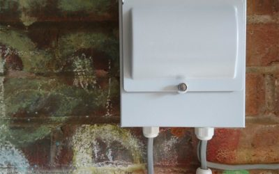 Garage Consumer Unit with Internal & External Lighting