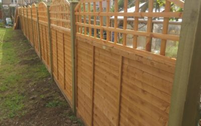 Renewal of Fence and Internal fixtures